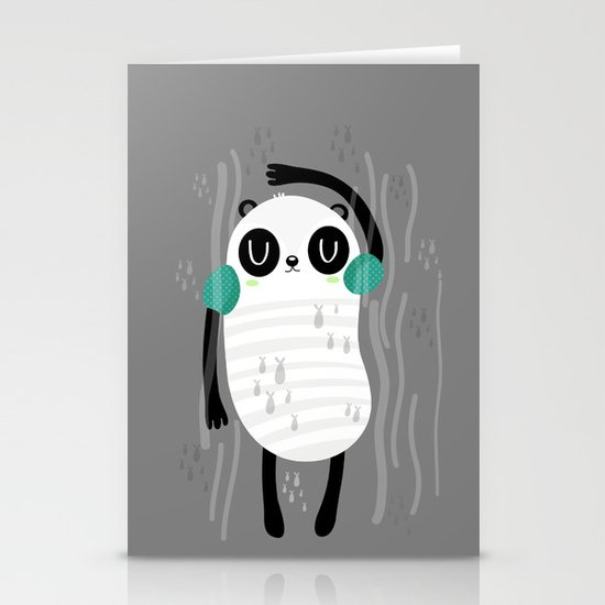 Contra corriente Stationery Card