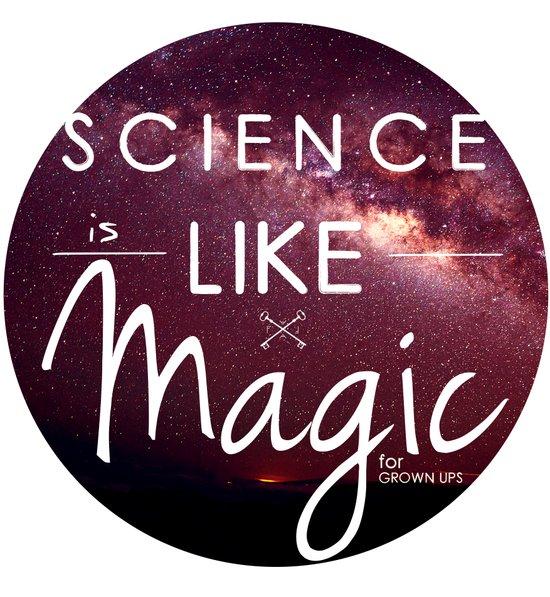 Science is Magic Art Print