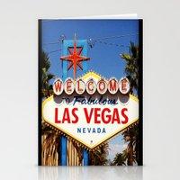 Ah Vegas... Stationery Cards