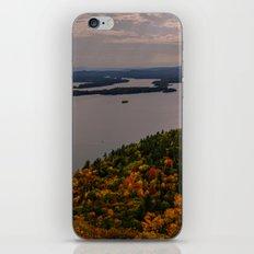 Squam Lake, 5-Finger Point iPhone & iPod Skin