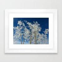 Hoar Framed Art Print