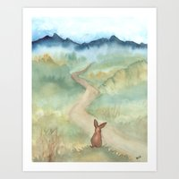 The Long and Winding Road Art Print