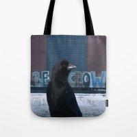 Be Crow Tote Bag