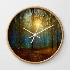 In seed time learn, in harvest teach, in winter enjoy. Wall Clock