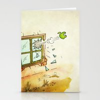 apple Stationery Cards featuring Apple! by Pepan