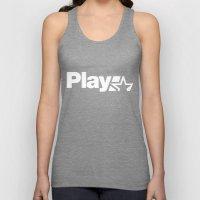 Play Unisex Tank Top