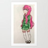 anime Art Prints featuring anime  by ArtGuts