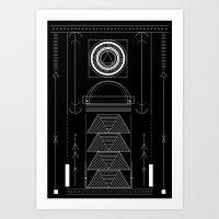 circuit Art Print
