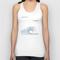 ring of the waves Unisex Tank Top
