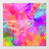 Color Fractal Canvas Print