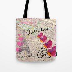 Oui Oui Tote Bag