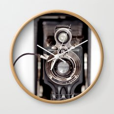 67-6 VINTAGE CAMERA COLLECTION  Wall Clock