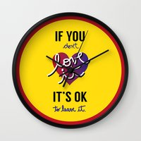 If You Don't Love It… … Wall Clock