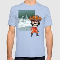 Night Cowboy Mens Fitted Tee Tri-Blue SMALL