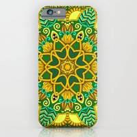 African Floral Pattern 3 iPhone 6 Slim Case