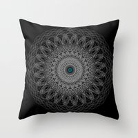 Nexus N°38bis Throw Pillow