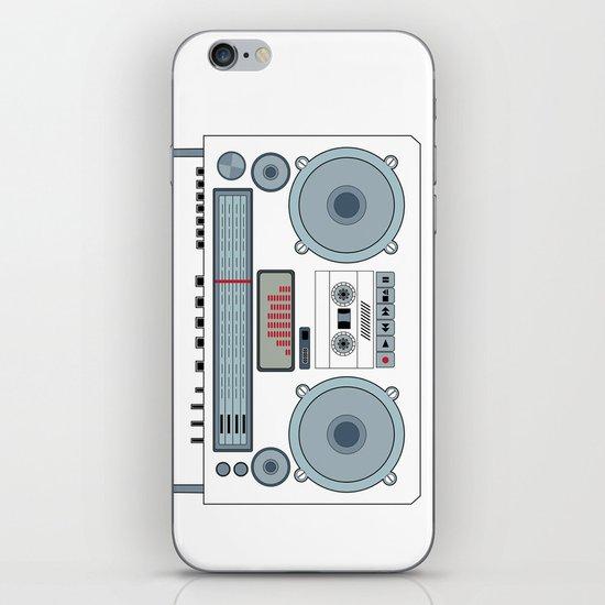 boombox  v1 iPhone & iPod Skin