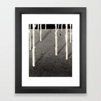 Forest of Guigemar Framed Art Print