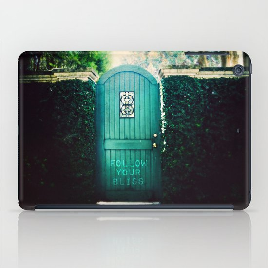 follow your bliss iPad Case