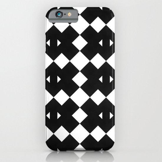 Branting Black & White Pattern iPhone & iPod Case