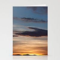 NM Sunset 3 Stationery Cards