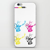 Unnatural Colors iPhone & iPod Skin