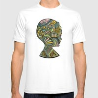 Beauty Of The Mind Mens Fitted Tee White SMALL
