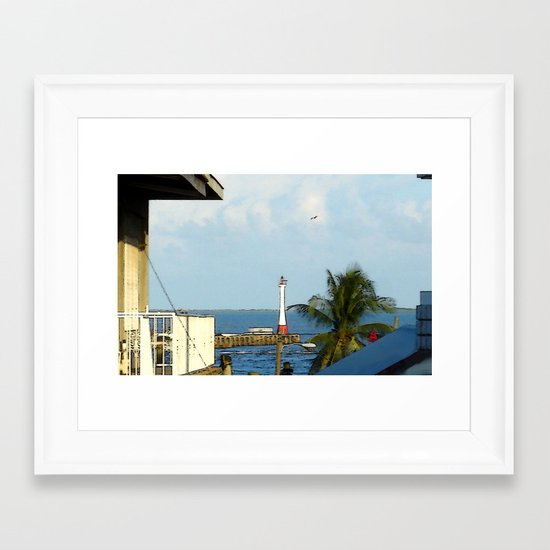 The Beacon Framed Art Print