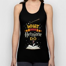 What Would Hermione Do? Unisex Tank Top