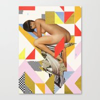 ODD 001 Canvas Print