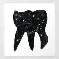 Cosmic Tooth Art Print