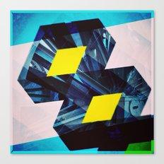 Industrial Symmetry Canvas Print
