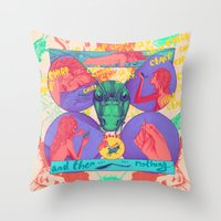 And Then Nothing. Throw Pillow