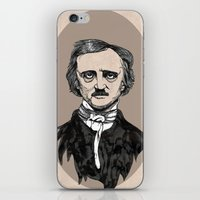 Edgar Allan Poe iPhone & iPod Skin