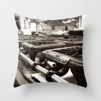 Home Made Cooking Throw Pillow