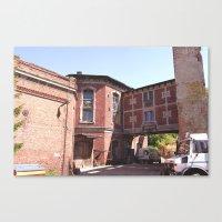 Historical Factories Canvas Print