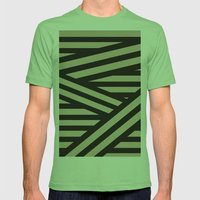 Bandage Mens Fitted Tee Grass SMALL
