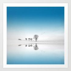 Blue Season Art Print