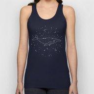 Whale Constellation  Unisex Tank Top