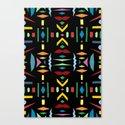 colour fever Canvas Print