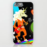 Rockin' Space Unicorn iPhone 6 Slim Case