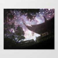 By Lantern Light And Sta… Canvas Print