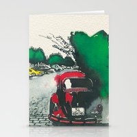 Red Beetle Stationery Cards