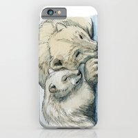 Polar Bears Sleeping 492 iPhone 6 Slim Case