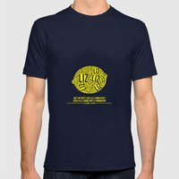 30 Rock - Liz Lemon Mens Fitted Tee Navy SMALL