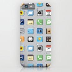 Phone Apps Slim Case iPhone 6s