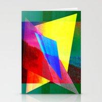 Sparkling Geometric Desi… Stationery Cards