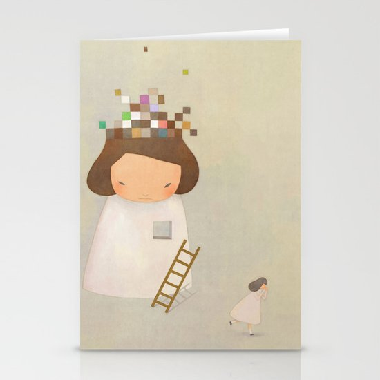 PIECE TO PEACE Stationery Card