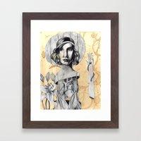 XII Framed Art Print