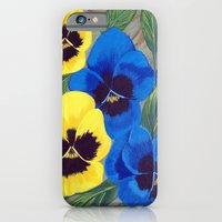 Pansies iPhone 6 Slim Case